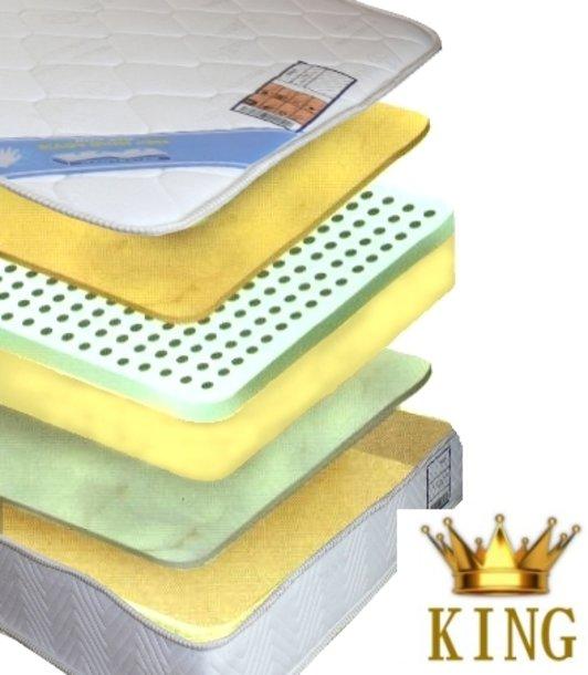 Bayscent Viskose KING Matratze von 200 x 190 bis 200 x 220