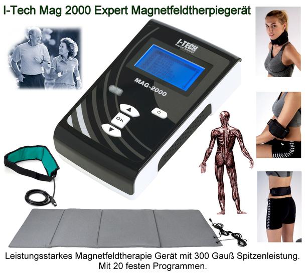 I-Tech Mag 2000 Expert Magnetfeldtherapiegerät Modell 2021