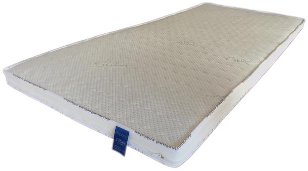 Topper / Matratzenauflage alle Größen Viskose / Gelschaum mit Silberbezug und hohe Druckentlastung
