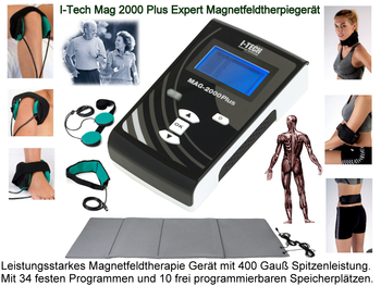 I-Tech Mag 2000 Plus Expert Magnetfeldtherapiegerät Modell 2021