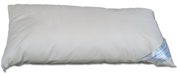 Wolke24 EXCELLENT Allergiker Kopfkissen 40x80 cm, Komfortkissen mit anpassbarer Füllmenge, bis 95 Grad waschbar